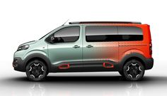 Citroën SpaceTourer Hyphen  vue de profil