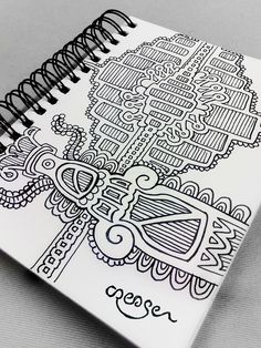 Doodles by Crease by Chris Lambert, via Behance