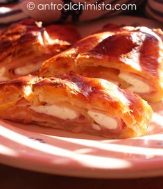 With frozen puff pastry on hand, this strudel is the ultimate in ease—especially if you also happen to have cooked ham, Parmesan, and a melting cheese like mozzarella in the refrigerator, too. Once you've layered the dough with the slices of ham and cheese, sprinkle it with Parmesan and roll up to enclose the fillings. Brushing with milk will ensure that the crust becomes golden brown during baking. Let cool slightly before serving.