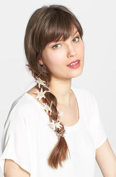 Berry Flower Strand Hairpin #prom hair accessories