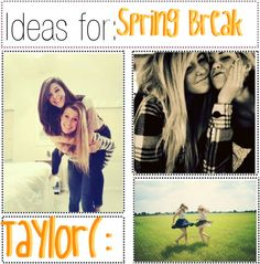 """""""Ideas For; Spring Break"""" by polytipgirllz ❤ liked on Polyvore"""