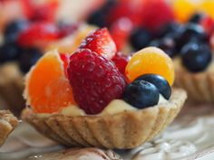 French Pastry Tarts: these are absolutely delicious!