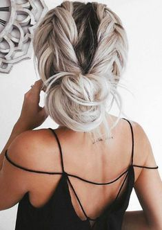 Party Hairstyles See our ideas of braid hairstyles for Christmas parties!Party Hairstyles See our ideas of braid hairstyles for Christmas parties! Trendy Haircut, Haircuts For Long Hair, Haircut Men, Haircut Styles, Buns For Long Hair, Bun Hairstyles For Long Hair, Boy Haircuts, Everyday Hairstyles, Short Haircuts