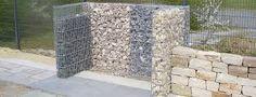 Bildergebnis für mülltonnenbox  beton