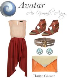 Avatar Aang inspired outfit; Nerd Fashion