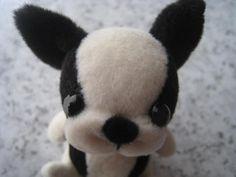 French Bulldog stuffed felt tutorial