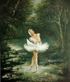 Swan Lake Carlotta Edwards - was the daughter of the French painter Ferdinand Pourrier. She is well know for her painti. Swan Painting, Ballet Painting, Dance Paintings, Ballet Art, Artist Bio, Artist Names, Vintage Ballerina, Ballerina Art, Swan Lake Ballet