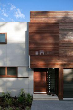 Tennyson Point Residence by CplusC Architectural Workshop - Exterior 1 Wood Interior Design, Interior Design Inspiration, Exterior Design, Design Ideas, Interior Designing, Architecture Résidentielle, Australian Architecture, Modern Contemporary Homes, Modern Decor