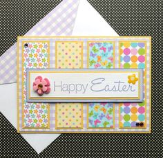 Hey, I found this really awesome Etsy listing at https://www.etsy.com/listing/182416950/easter-greeting-card-with-matching