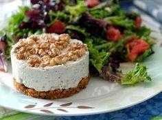 Mini cheesecake salate
