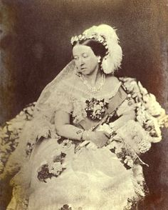 """Before Qu. Vic. married Pr. Albert (a match based on Love!), women wore their best gown to get married 