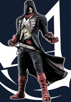 Arno Dorian - Assassin's Creed Unity •Terry Huddleston
