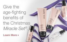 "Experience the Miracle Set and discover why it's called that. 15% Off use Code 'SALE"" www.marykay.com/skin_care"