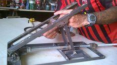 Sistema de elevação para serra de bancada fácil de fazer