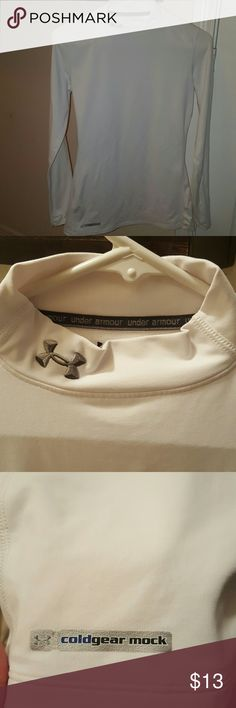 Under Armour Fitted Coldgear Mock Long sleeve coldgear fitted shirt. Under Armour Tops
