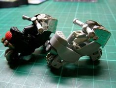 DIY Motorcycle Toys - Transform Your Old Lighter into a Lighter Cycle (GALLERY)