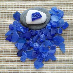 Rare Cobalt Blue sea glass