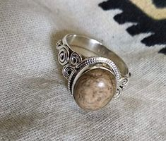Jasper Ring 925 Silver Ring New Design Ring Traditional Jewelry Unique Ring Gift Fashion Rings, Fashion Jewelry, Mom Fashion, Bridesmaid Rings, Sterling Silver Rings, 925 Silver, Silver Jewelry, Unique Rings, Gemstone Rings