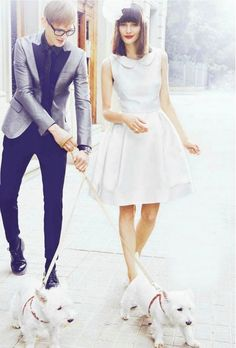 I really want to get married dressed like this someday. With blue shoes.