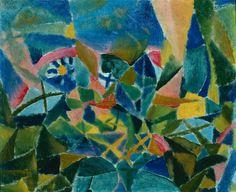 Paul Klee - Flower Bed, 1913