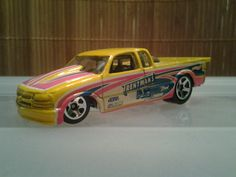 1998 Pro Stock Chevy S-10 Mini Trucks, Hot Wheels, Chevy