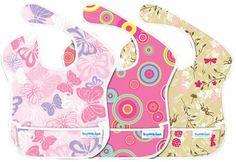 Bumkins SuperBib 3 Pack- Girl Trend - #giftsunder25