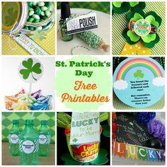 St. Patrick's day free printables #print