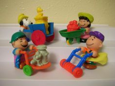 McDonald's Happy Meal Toy from 1990 The  Peanuts  Full Set