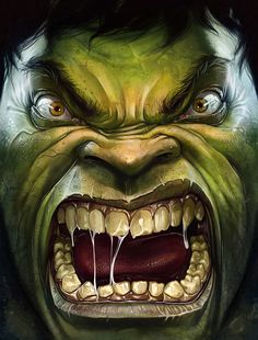 """Because you thought you were stronger than the Hulk? No one is stronger than the Hulk! Marvel Comics, Bd Comics, Hulk Marvel, Marvel Comic Books, Comic Book Characters, Marvel Heroes, Comic Books Art, Comic Art, Hulk Comic"