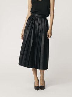 MINIMAL + CLASSIC #black #skirt