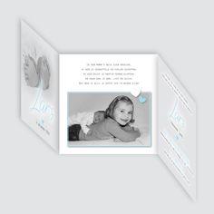 Geboortekaartje Lars, ontworpen door Ontwerp Studio Rottier