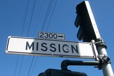 San Francisco - Mission District: Mission Street by wallyg, via Flickr
