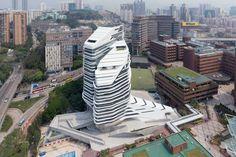 cool Innovation Tower | Zaha Hadid Architects Check more at http://www.arch2o.com/innovation-tower-zaha-hadid/