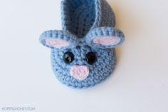 Field Mouse Baby Booties - Free Crochet Pattern