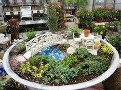 Kleine Gärten gestalten - Miniatur-Projekte mit viel Fantasie