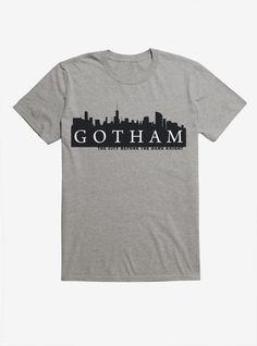 Gotham City T-Shirt tshirtclothing Joker T Shirt, Batman T Shirt, Arrow T Shirt, Marvel E Dc, Gotham City, Gotham Font, T Shirt Image, Heart With Arrow, Custom T