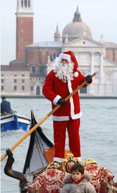 Venetian Santa Claus