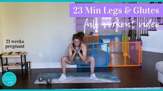 Grab some dumbbells and get ready for a quick, sweaty leg shaping workout to love your legs and glutes! It's a great home workout and technically can also be. Body Workouts, At Home Workouts, 21 Weeks Pregnant, Glutes, Workout Videos, Body Weight, Love You, Legs, Youtube