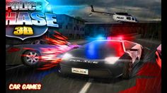 Police Chase 3D Car Game Racing Cartoon for Kids | By Game's World
