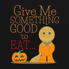 Trick or Treat Halloween Quotes, Halloween Horror, Halloween Town, Spirit Halloween, Vintage Halloween, Happy Halloween, Halloween Ideas, Trick R Treat 2007, Trick Or Treat Sam