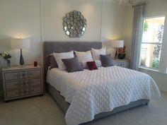 Trinity Lakes Model Master Bedroom