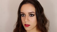 Maquillaje de ojos ahumados en tonos cafes / Brown smokey eye makeup tutorial
