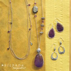 COLOR CRUSH: This Amethyst could be yours! #Silpada. www.mysilpada.com/lorinda.kronenberg