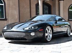 2002 jaguar xk8 with slight mods. Clean lines