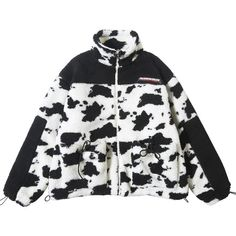 Extreme Aesthetic Borg Zip-Up in Cow Print - Clout Collection Top Streetwear Brands, Streetwear Fashion, Streetwear Clothing, Streetwear Men, Cow Outfits, Sport Outfits, New Fashion, Fashion Outfits, Fashion Poses