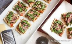 Steak Bruschetta Flatbread-342