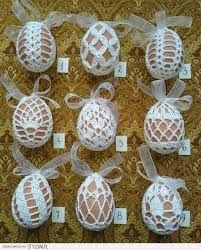 Risultati immagini per szydełkowe koszulki na jajka wzory