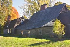Actually, 17th century. The venerable Fairbanks House in Dedham. MA  1641