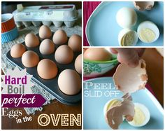 How to Make PERFECT Hard Boiled Eggs in the Oven - Family Fresh Meals