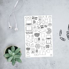 cozy day, lazy sunday – stickers for your bullet journal, filofax or any other stationery – available on etsy Filofax, Tv Planner, Bullet Journal, Netflix And Chill, Scrapbook, Lazy Sunday, Journal Ideas, Bujo, Planer